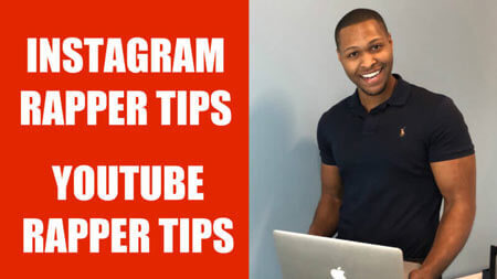 Instagram rapper tips youtube tips