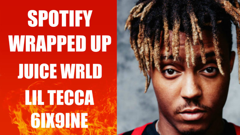 Spotify Streams Wrapped Up Juice Wrld